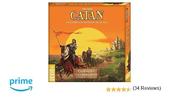 Devir - Expansión Catan: Ciudades y Caballeros, juego de mesa ...