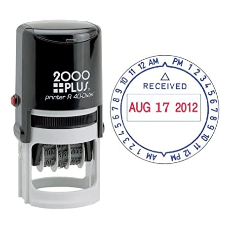 Amazon COSCO 2000 Plus Self Inking Date And Time Stamp