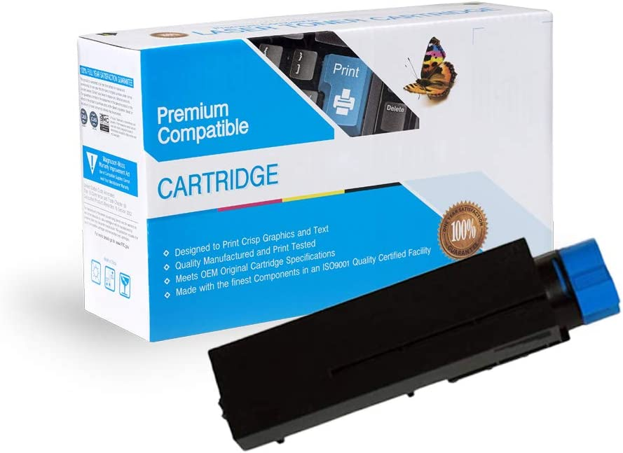 Works with: B431,B431D Black B431DN Print.After.Print Compatible Toner Replacement for Oki-Okidata 44574901 MB461 MFP MB471 MFP MB471W MFP