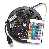 PlugBits Colorful RGB LED Strip Lighting kit 13.1-Feet - Best Reviews Guide