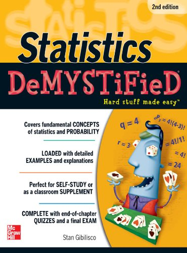 Statistics DeMYSTiFieD, 2nd Edition (Fix Everything Electronic compare prices)