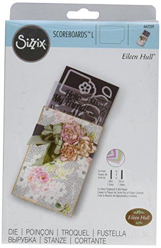 Sizzix Ehull Scoreboards L Die Stamp&Photo Storage EH L Diestmp&Phtos - Scoreboard Photo