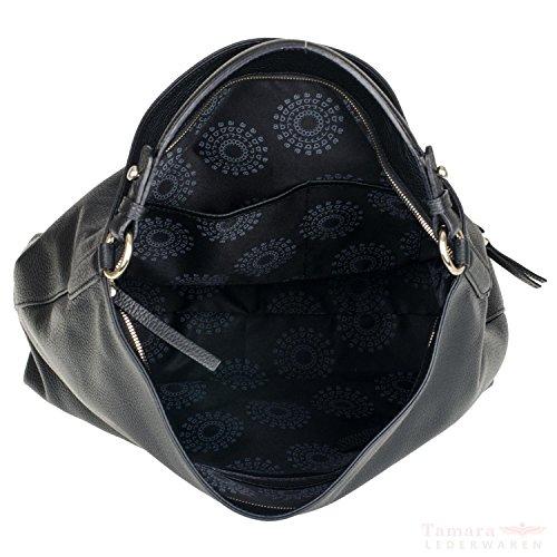 Abro , Sac pour femme à porter à l'épaule noir noir/doré