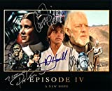 Star Wars Cast Signed Autographed 8 X 10 Reprint Photo Episode IV New Hope with Carrie Fisher