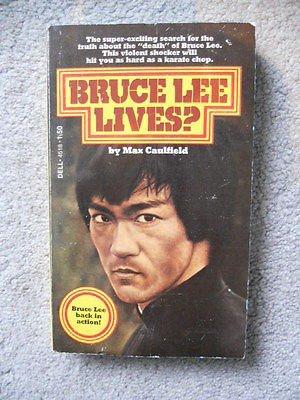 (Bruce Lee rare vintage pocketbook 1970s)