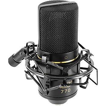 mxl mics 770 cardioid condenser microphone mxl musical instruments. Black Bedroom Furniture Sets. Home Design Ideas