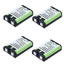 4x Masione 3.6V 800mAh Cordless Phone Battery for Panasonic HHR-P107 HHRP107 KX-3031