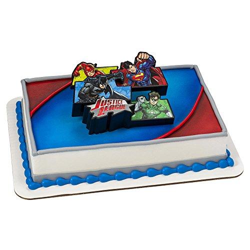 Justice League Cake Decoration Set -