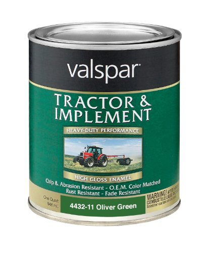 Price comparison product image Valspar 4432-11 Oliver Green Tractor and Implement Paint - 1 Quart