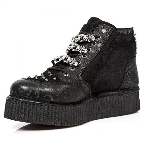 New Rock Boots M.crp003-s1 Punk Rampicante Unisex Sneeker Schwarz