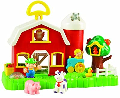 Small World Toys Preschool Big Fun Activity Barn 3 from Small World Toys