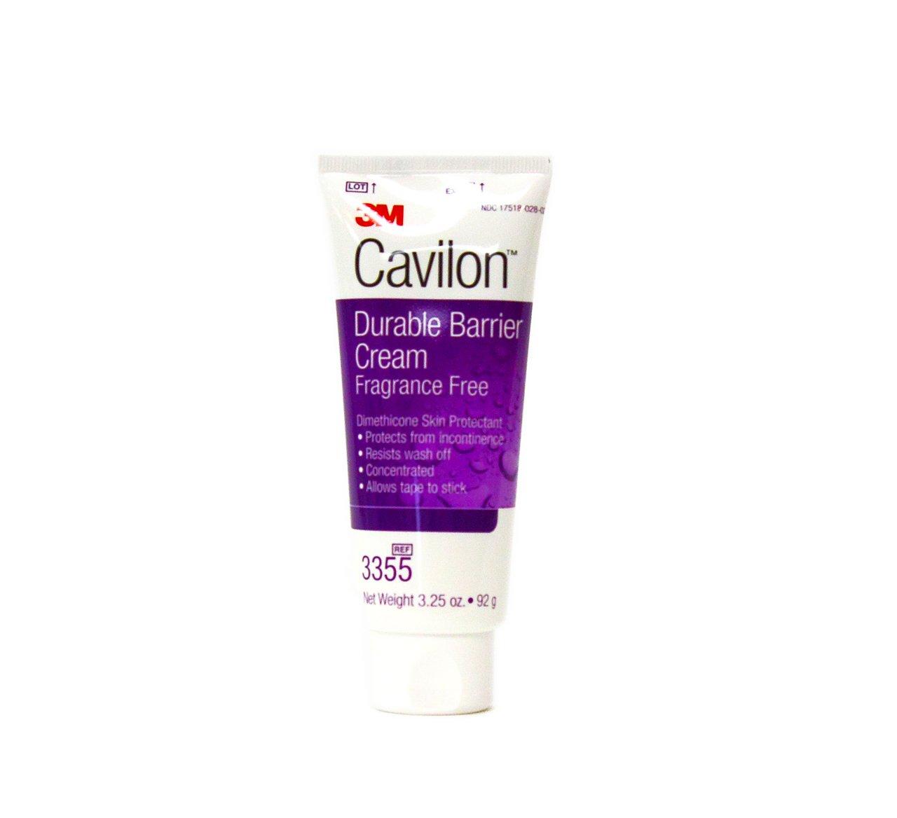 3M Cavilon Durable Barrier Cream Fragrance Free 3.25 ounce (92g) Tube