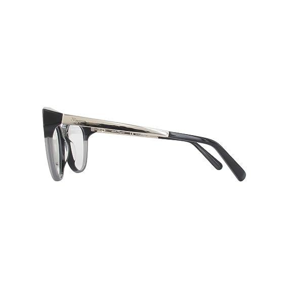 176c0fff12 Amazon.com  Eyeglasses FERRAGAMO SF 2784 013 BLACK GREY  Clothing