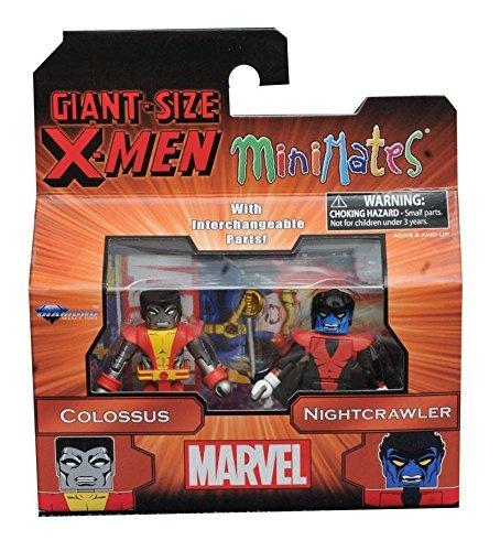 Marvel Minimates Series 68 Giant Size X-Men Colossus & (Nightcrawler X Men Costume)
