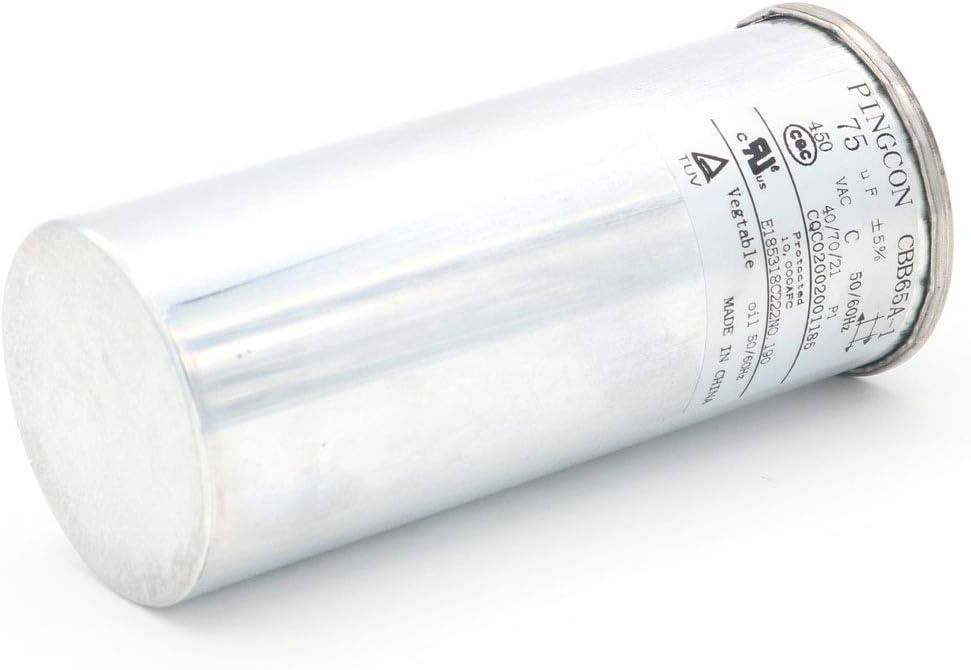 DollaTek 75uF CBB65 Moteur /à condensateur fonctionnant pour climatiseur 450VAC SH 40//70//21 50 60Hz