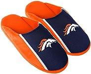 FOCO Unisex's Split Color Slide Slipper Denver Broncos 2016 Jersey Me
