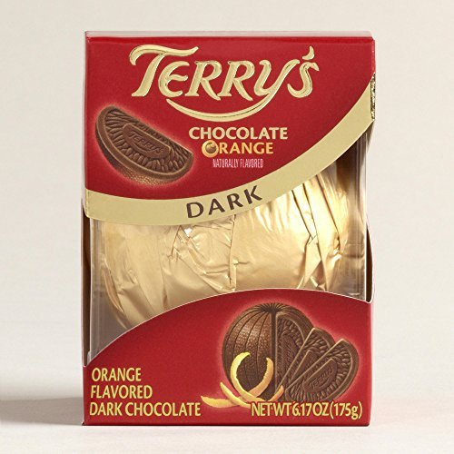 Terry's Dark Chocolate Orange Ball, 6.17 ounce Boxes (2 pack) by Terry's