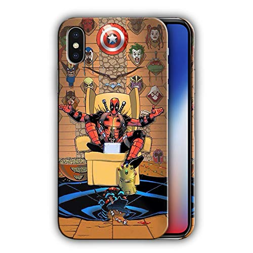 Hard Case Cover with Deadpool, Comics, Antihero Design Compatible with iPhone XR (dead4)]()