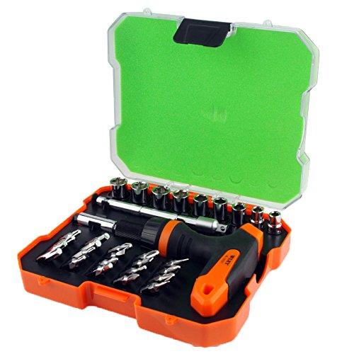 iPartsBuy Screwdriver Repair Tool 32 in 1 Ratchet Precision Screwdriver Set (WL-2932T)