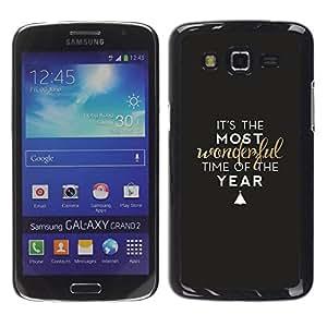 Paccase / SLIM PC / Aliminium Casa Carcasa Funda Case Cover para - Glitter White Pattern Chevron Design - Samsung Galaxy Grand 2 SM-G7102 SM-G7105