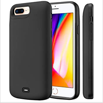 Fey-EU Funda Batería para iPhone 6/6S/7/8, 5500mAh Funda Cargador Portatil Batería Externa Ultra Carcasa Batería Recargable Power Bank Case para ...