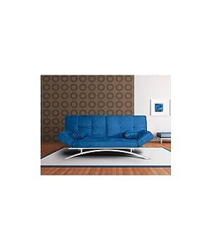 Befara Sofas Cama Clic CLAC CERDEÑA Azul: Amazon.es: Hogar