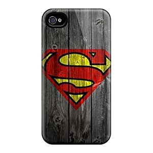 Ultra Slim Fit Hard Williamwtow Case Cover Specially Made For Iphone 4/4s- Supermanb
