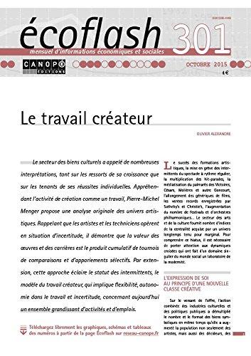 Ecoflash N 301 Octobre 2015 le Travail Créateur Alexandre Olivier