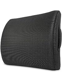 elephix lumbar pillow lower back support cushion cooling memory foam back rest