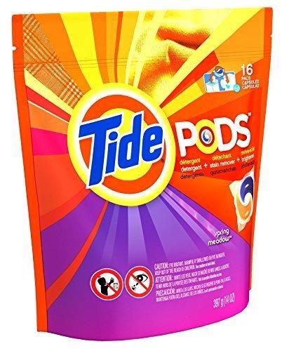 Procter & Gamble Tide 93120 Spring Meadow 3-In-1 Tide Lau...