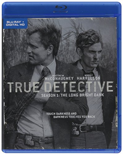 Blu-ray : True Detective: The Complete First Season (Full Frame, 3 Pack, Repackaged, Digital Copy, 3 Disc)