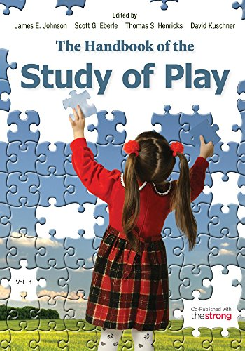 The Handbook of the Study of Play: 2 Volumes Pdf