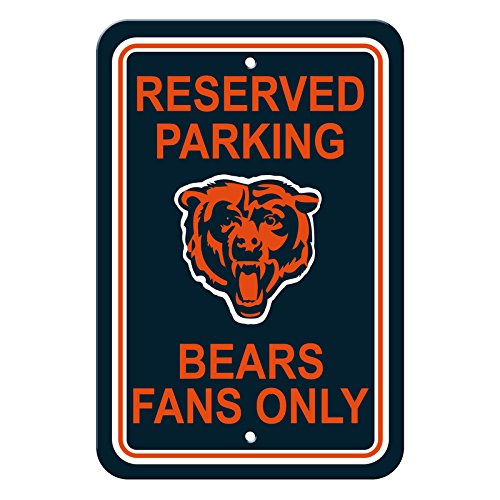 Official National Football League Fan Shop Authentic NFL Parking Sign (Chicago (Bears Nfl Flag)