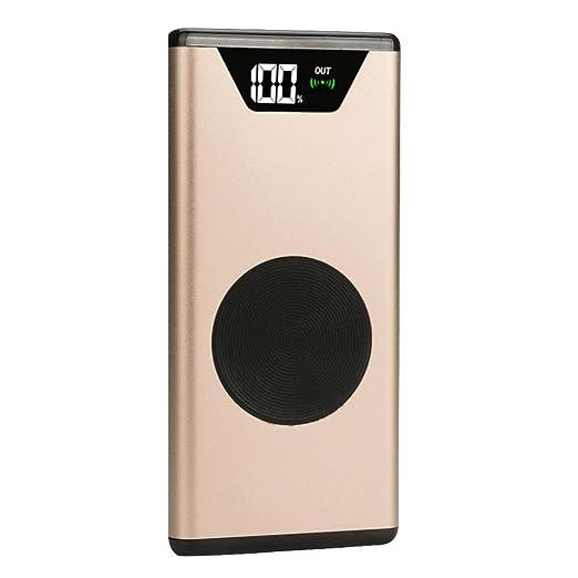 Oksale - Cargador de batería inalámbrico Qi portátil de ...