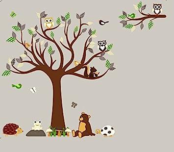 Amazoncom HH Baby Boutique Nursery Owl Wall Decal Teddy Bear - Nursery wall decals amazon