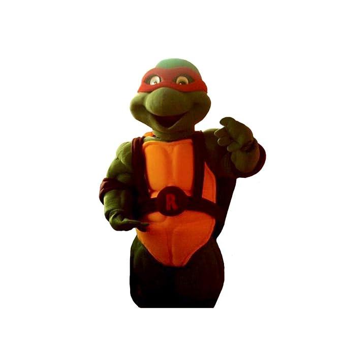 Amazon.com: Red Ninja Turtle Raphael Mascot Costume ...