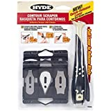 Hyde Tools 10450 Contour Scraper with 6 Changeable Blades by Hyde Tools