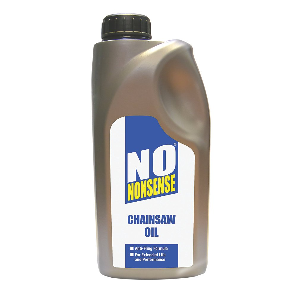 NO NONSENSE HP-146 CHAINSAW OIL 1LTR. High Quality Chain Oil With Anti-Fling Formula