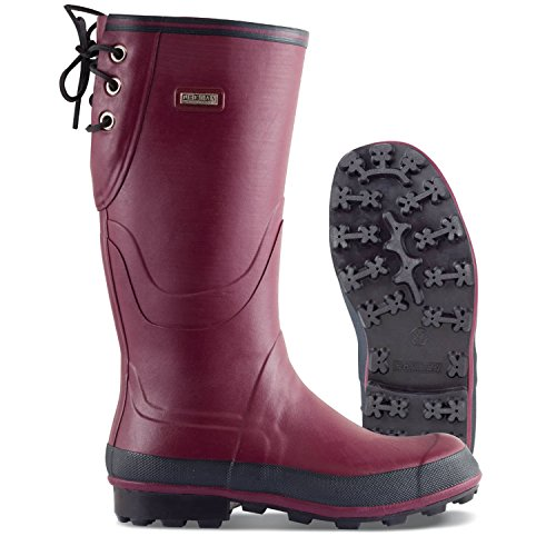 NOKIAN Finnjagd Rubber Boots red/Purple Size 40 2017 Gumboots