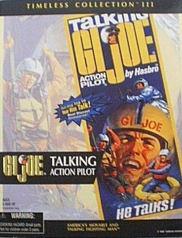 "GI Joe Timeless Collection III TALKING ACTION PILOT 12"" African-American Action Figure Set (2000 Hasbro)"