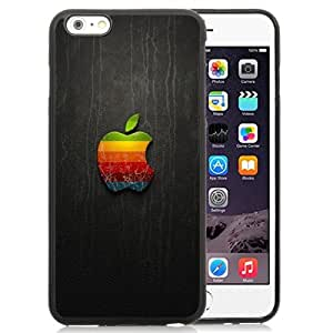 New Personalized Custom Designed For iPhone 6 Plus 5.5 Inch Phone Case For 3D Vintage Apple Logo Phone Case Cover