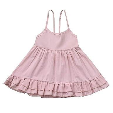 AIni Ropa Bebé NiñA Recien Nacido Verano Vestido Princesa ...