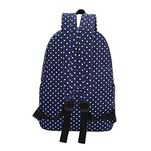 Laptop Printed Bag Blue Polka 6 Deep inch Rucksack 15 Dot gxwqETnwC