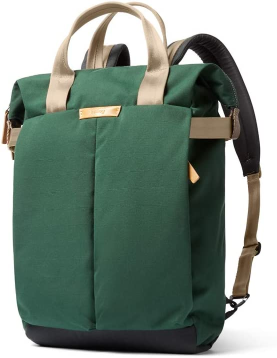"""Bellroy Tokyo Tote Backpack (Convertible Tote Backpack, Fits 15"""" Laptop) - Forest"""