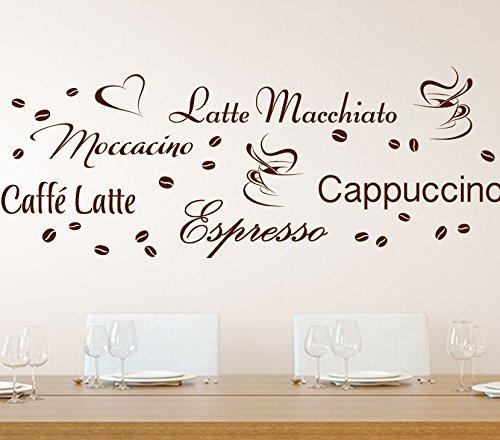 Wandora G006 Küche Latte Macchiato Moccacino Cappuccino Espresso ...