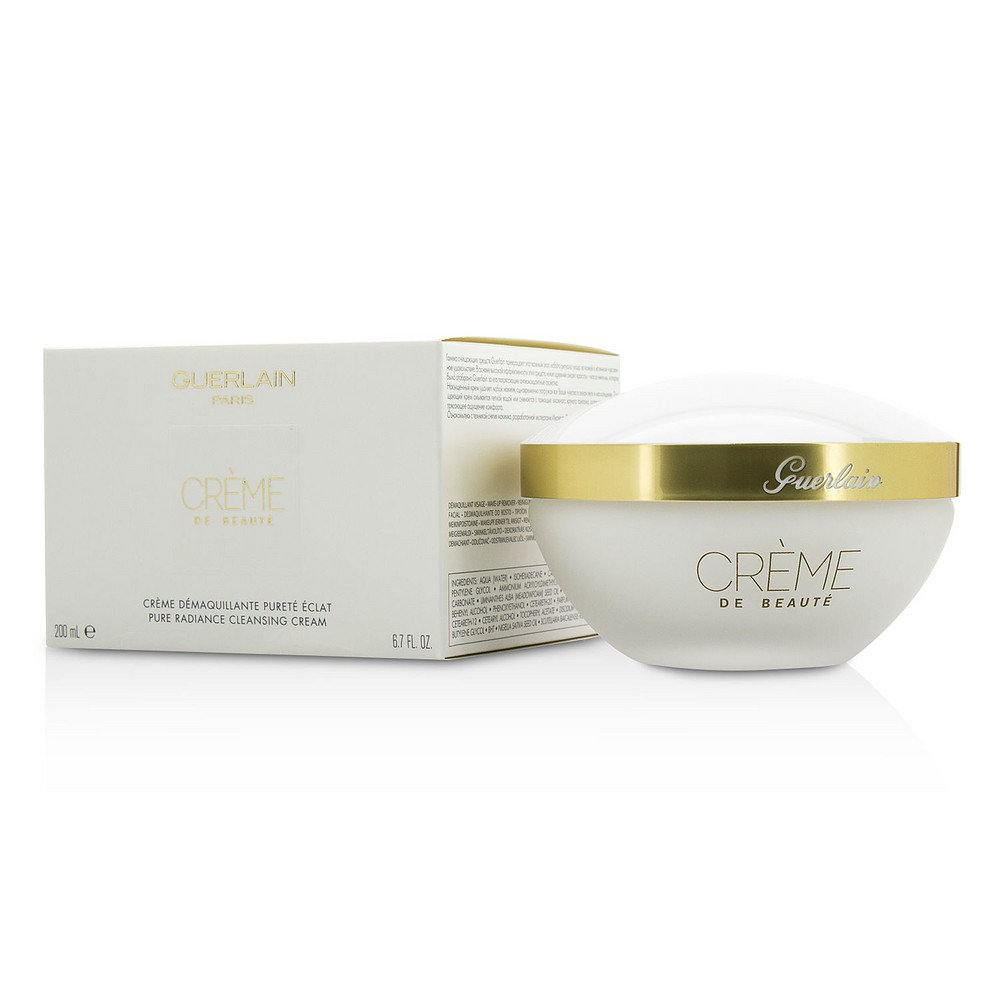 GUERLAIN by Guerlain Pure Radiance Cleansing Cream - Creme De Beaute --200ml/6.7oz for WOMEN ---(Package Of 3)