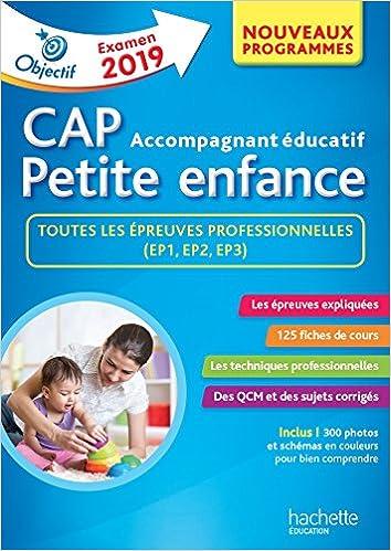 Objectif Cap Accompagnant Educatif Petite Enfance Epreuve