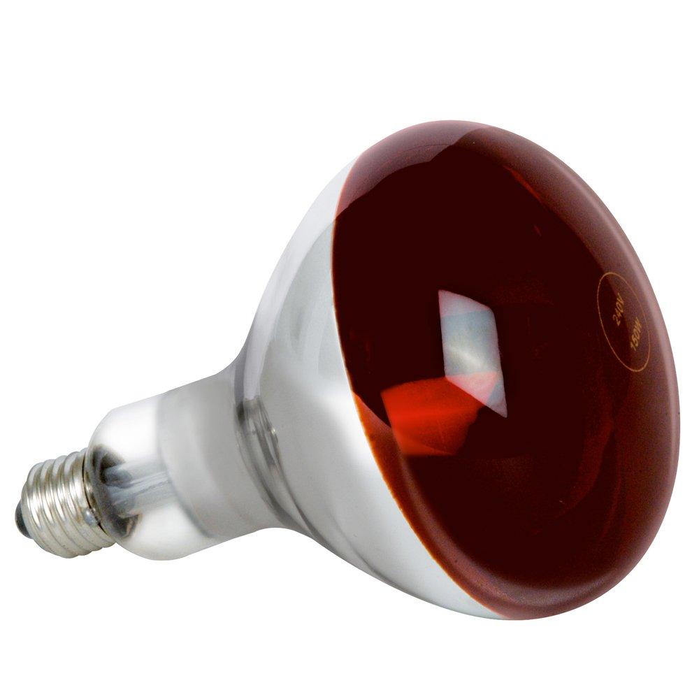 Estufa Infrarrojos Portatil + Lámpara Bombilla (250W E27) [ PACK ] - Luz Roja - Emite Calor: Amazon.es: Productos para mascotas