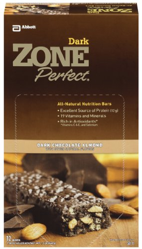 Zone Perfect Dark Chocolate Almond, 1.58-Ounce Bars (Pack of 12)