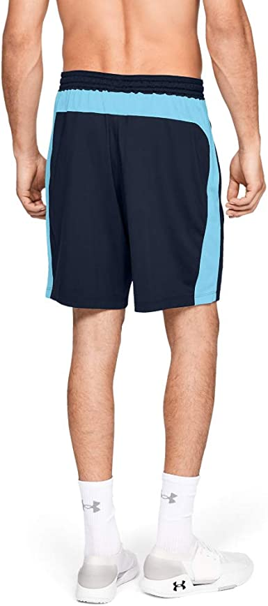 Under Armour Men/'s Woven Graphic Shorts Teal Print L